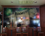 Jameson Wall Wrap for Brewske's Burger Wars Debut