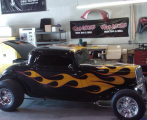 Custom Auto Glass Service for Hot Rods in Las Vegas