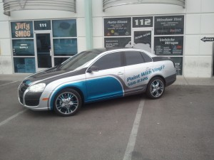 Promoting Your Las Vegas Business with Vehicle Wraps