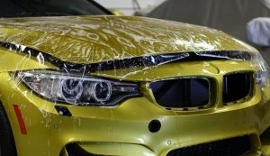 Paint Protection Film to Car
