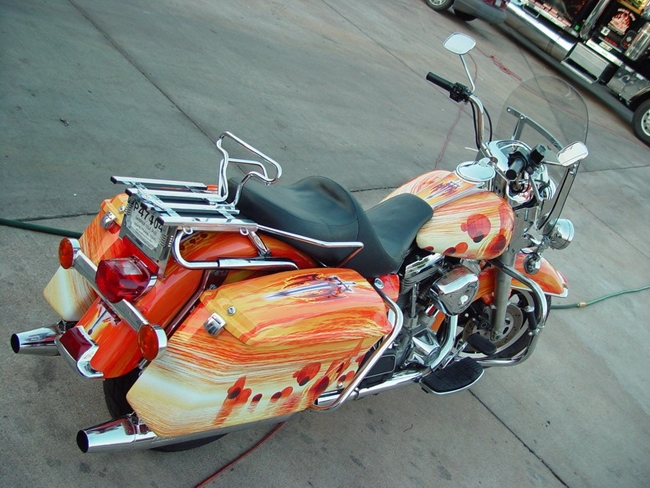 Why Flame Vinyl Wraps On Motorcycle S Are So Popular Team Acme