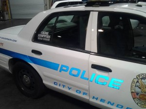 reflective graphics for security vehicles