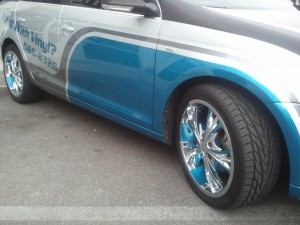 Fleet Branding with Vehicle Wraps