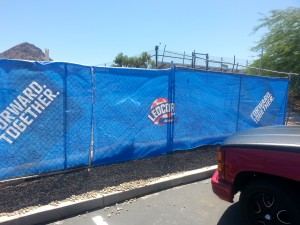 Crowd Barrier Graphics for Las Vegas Events