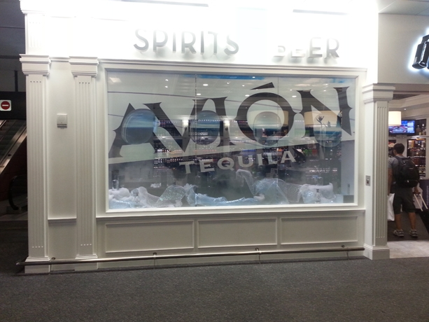 Avion Tequila Airport Advertising (1)