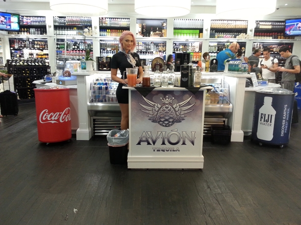 Avion Tequila Airport Advertising (2)