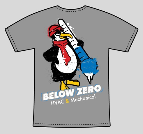 Below Zero T-shirt
