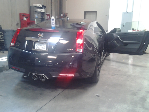 Cadillac CTS V Window Tint