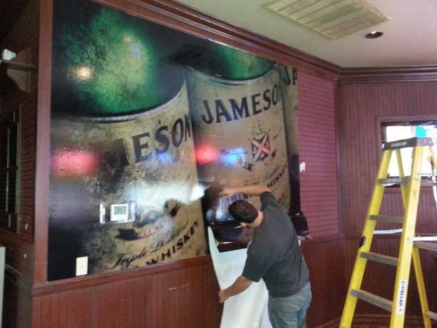 Jameson Bar Wall Wrap (1)