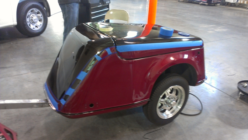 Motorcycle trailer paint job (1)