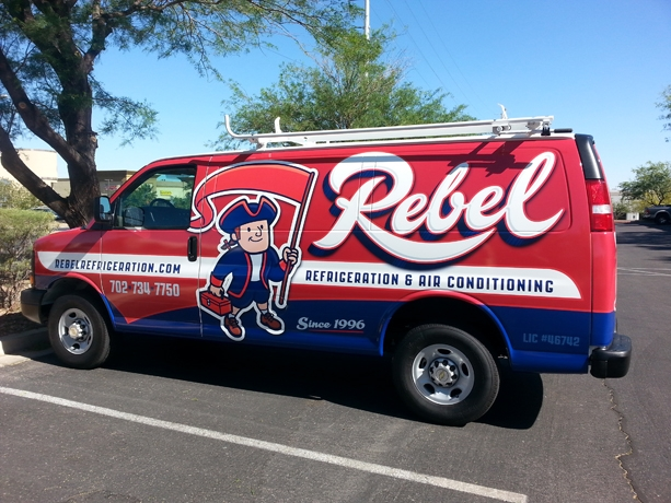Rebel AC Vehicle Wrap (2)