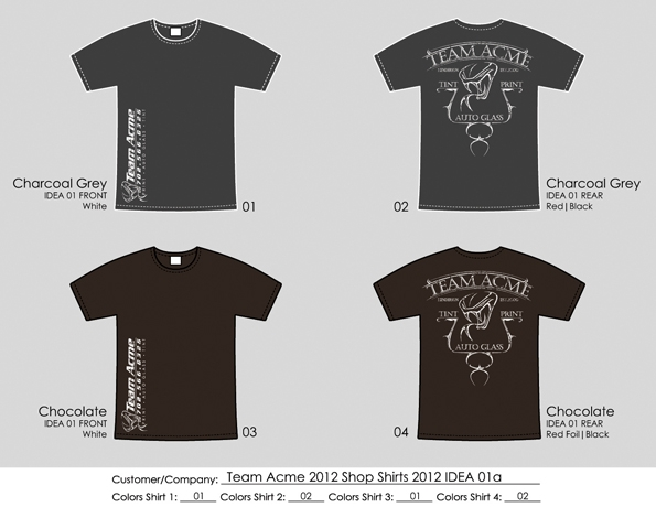 Team Acme T-Shirts (2)