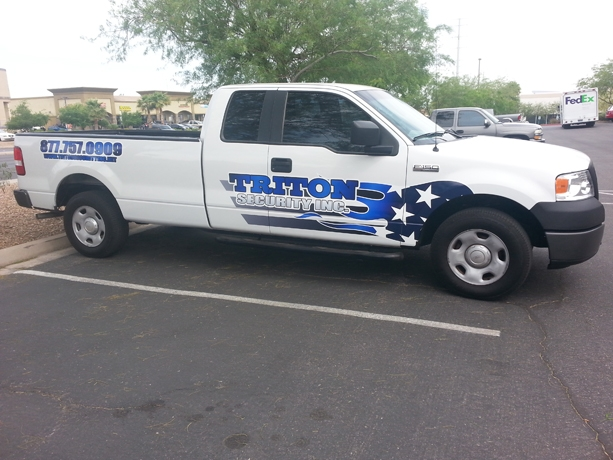 Triton Security Fleet Vehicle