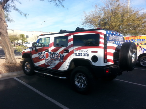 Big Horn Tours Vehicle Wrap Hummer H2 (4)