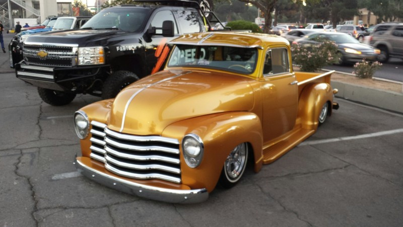 Chop Top Chevy Pickup Custom Glass (17)