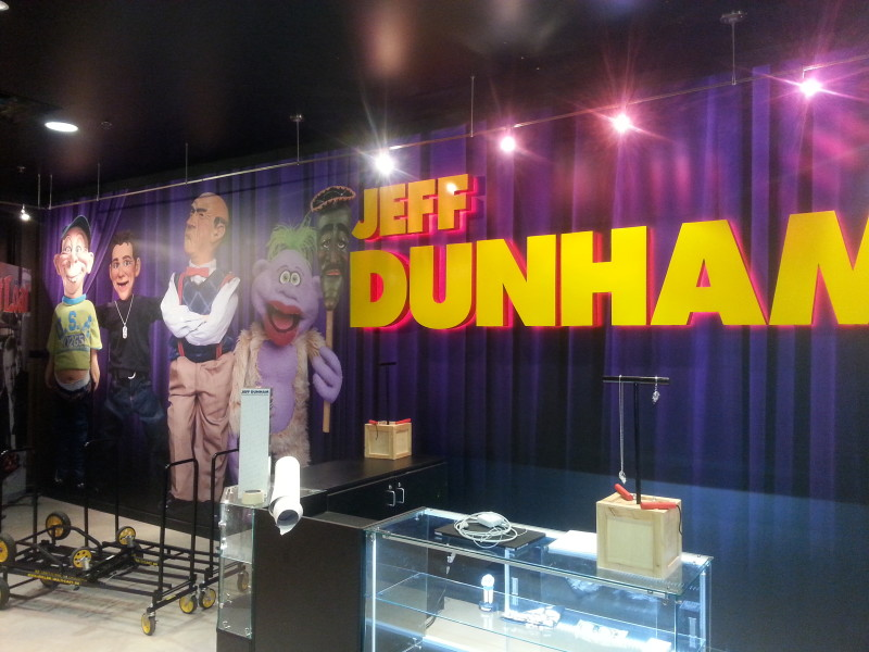 Jeff Dunham souvineer shop wall graphics (1)