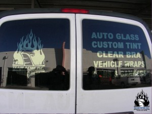 Advertising on Glass: Residential and Auto