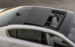 Repaired Sunroof of a Car