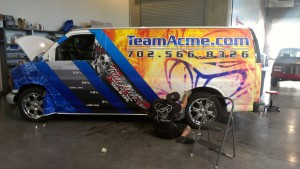 Vinyl Vehicle Wraps in Nevada