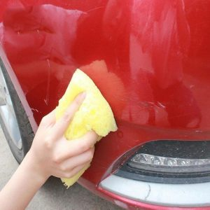 Fixing Car Scratches With Wax