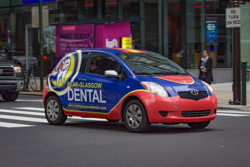 Advertising Car Wrap