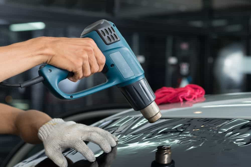 Window Tint Removal Heat Gun